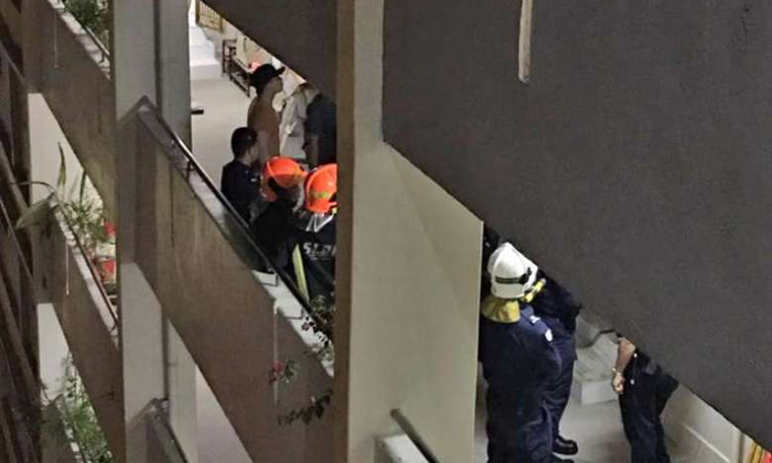 Half-naked 'Spider-Man' climbing at Ang Mo Kio block leads police to discovery of contraband cigarettes