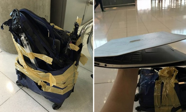 Budget airline offers compensation for passenger's damaged luggage: $77