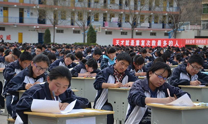 Want extra points on your school entrance exams in China? Just get your parents to invest $5 million