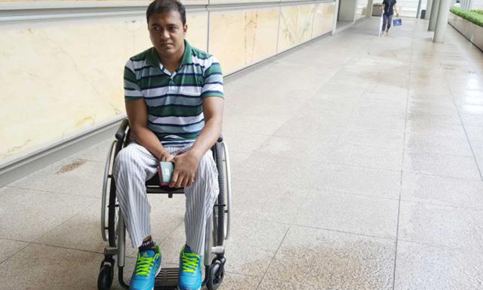 Bangladeshi construction worker who was paralysed after getting knocked down by forklift gets $600,000
