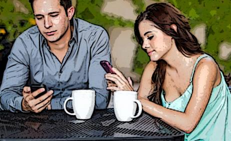 Do you think mobile devices ruin love? Share with us your experiences