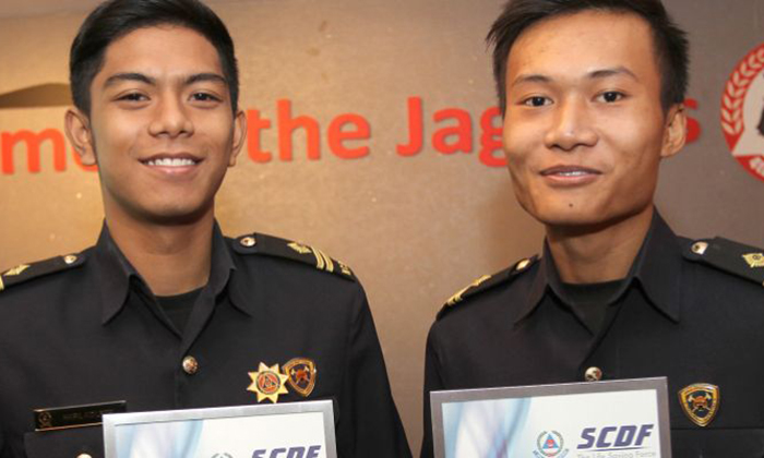 SCDF awards teens who helped two cardiac arrest victims
