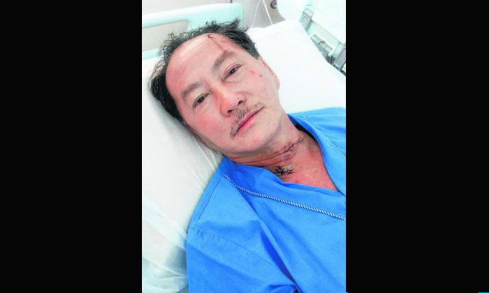 Man whose wife was allegedly killed by maid: She slashed my neck, I was in shock