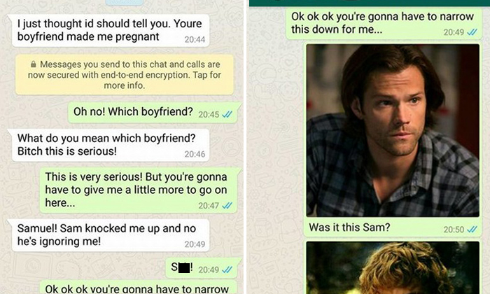 Hilarious trolling ensues after woman tries to out cheating BF to wrong number