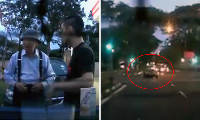 Elderly uncle caught beating red light -- but fellow driver explains why he hopes TP can give him a chance