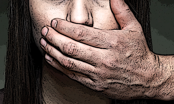 Man molested 12-year-old daughter after asking her to go to his room, and also threatened to kill wife