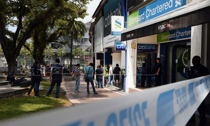 Holland Village bank robbery: Banks' security measures include CCTV, alarm systems