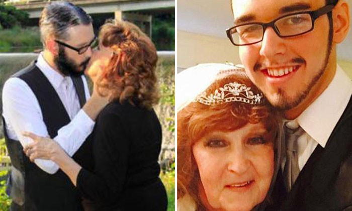 71-year-old woman marries 17-year-old guy after meeting him at her son's funeral