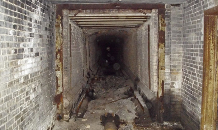 Explorer sneaks into creepy abandoned factory in middle of forest -- and here's what he found