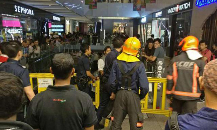 Shoppers evacuated after fire breaks out at Jem, no injuries reported