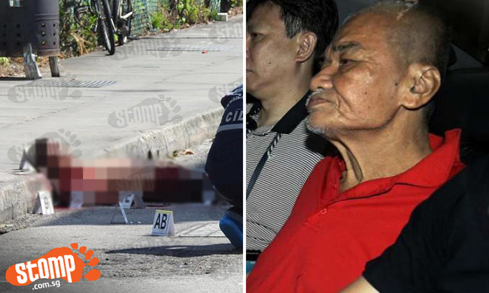 64-year-old man charged with murder of coffee shop helper at Lor 23 Geylang