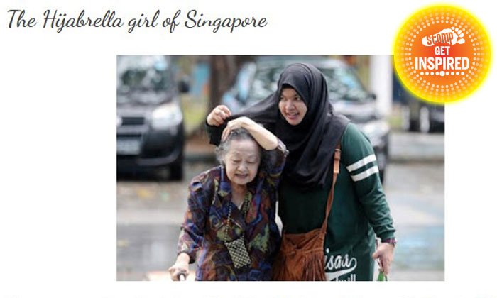 Girl who used hijab to shield grandmother from rain speaks out about sudden fame: I now know how animals on exhibition feel