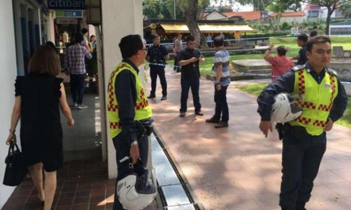 Holland Village bank robbery: Suspect arrested in Bangkok