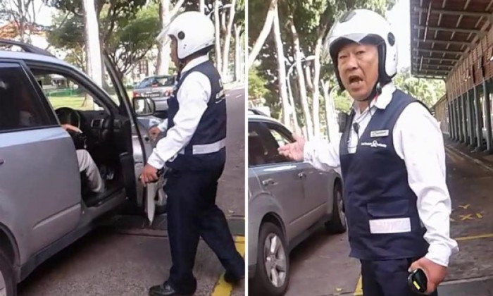 LTA apologises after officer filmed in altercation with motorist at Yio Chu Kang MRT station