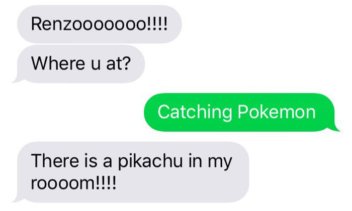Hilarious mum trolls her son using Pokemon Go