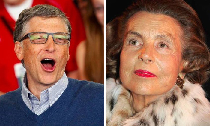 19 richest people from around the world and the billions they own