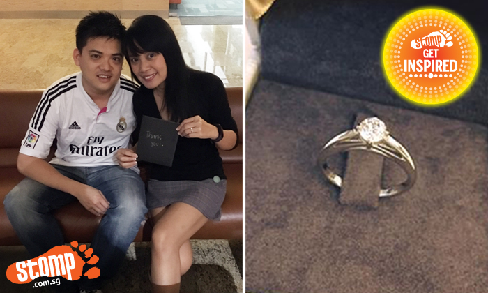 Woman who lost diamond ring gets it back from kind netizen after Stomp report -- and thanks her in amazing way