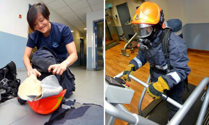 26-year-old woman named Best Trainee in SCDF's gruelling 16-week Volunteer Firefighter Course