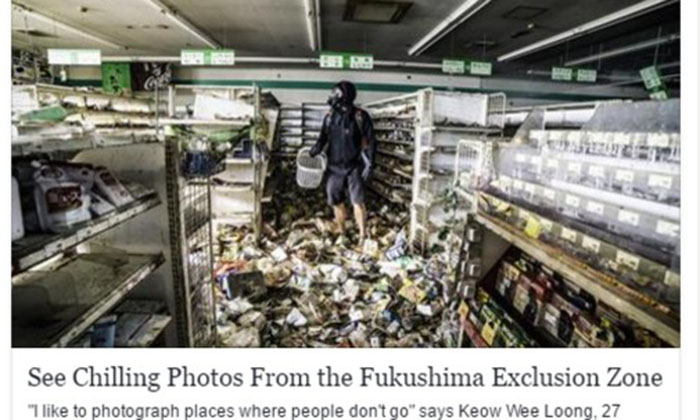 Guy slams Malaysian photographer who took pictures in Fukushima red zone for doing 'cheap, publicity stunt'