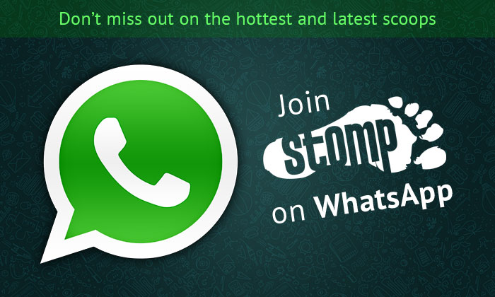 Want to get the latest breaking news and contribute reports on the go? Join Stomp on WhatsApp for free!
