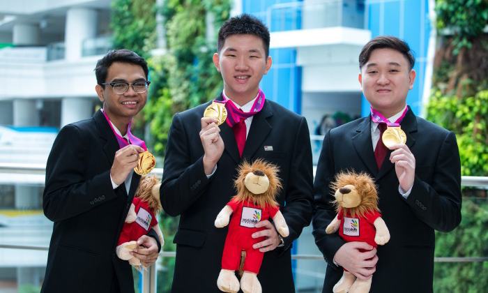 ITE students do us proud by winning chance to represent Singapore at WorldSkills Competition in Abu Dhabi