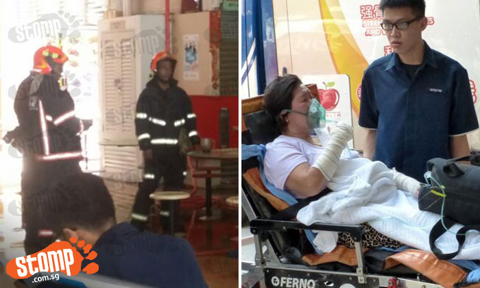 Old Airport Road Food Centre fire: They heard explosions and a scream