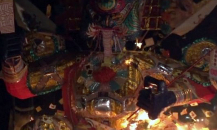 Why craftsmen take months to build 'King of Hades' -- to burn it for 5 minutes