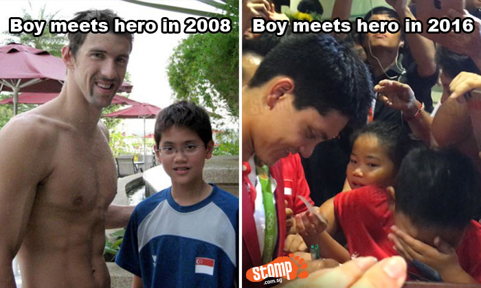 When boy Schooling becomes a hero...