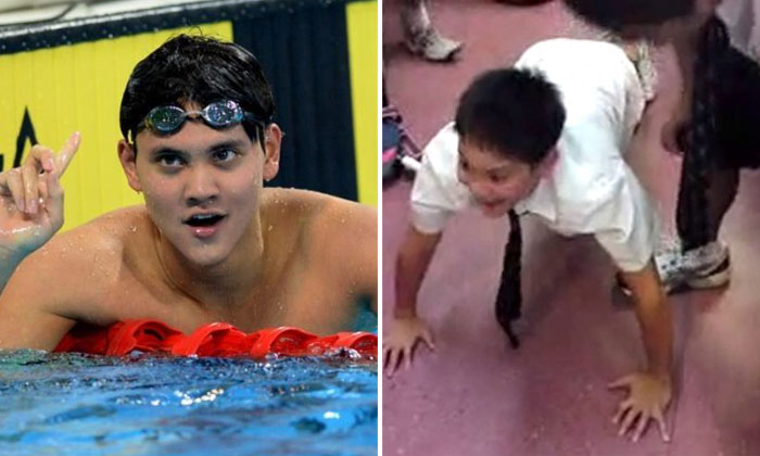 How to win a gold medal at the Olympics? Get a good 'coach' like this one Joseph Schooling had
