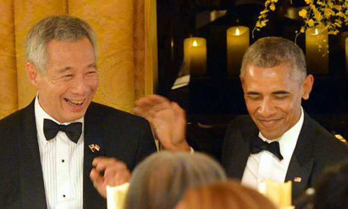 5 of the best moments from PM Lee's trip to the White House