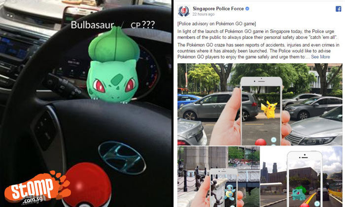 SCDF, SAF, the police and even an MP: Everyone's talking about Pokemon Go craze in S'pore
