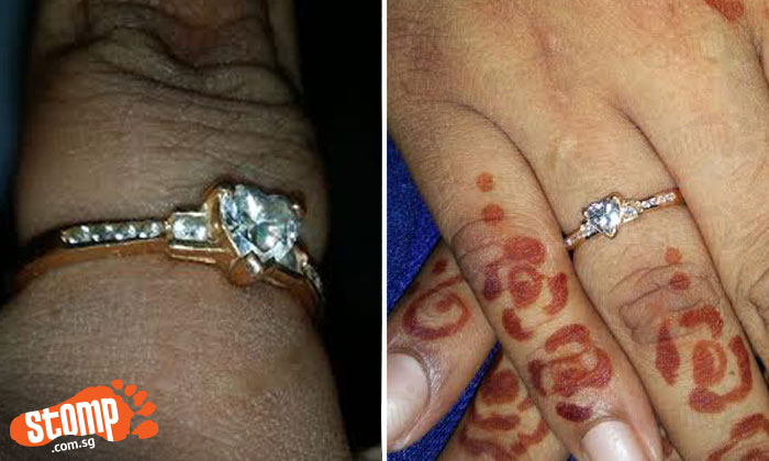 """Stomper appealing for help to locate lost engagement ring last seen at SGH: """"It means a lot to my fiance and I"""""""