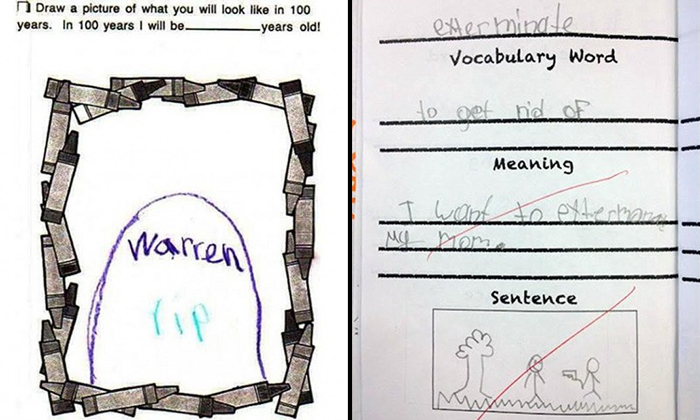You will LOL at these 19 kids' 'clever ' test answers