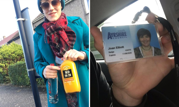 Teen dresses up as his mum in desperate attempt to buy booze
