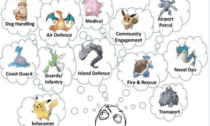 Hilarious Pokemon meme show what NSFs are thinking of when choosing their vocations