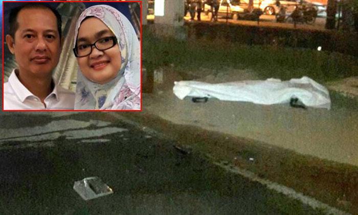 Malaysian woman tragically loses both father and S'porean husband in crash near Johor