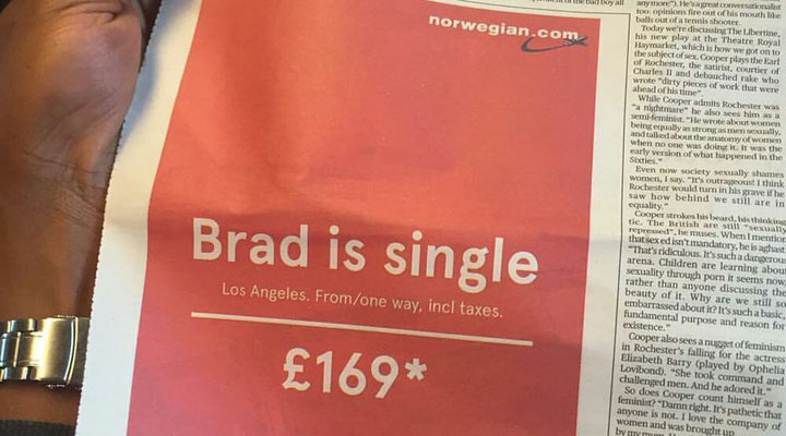 This Norwegian Airlines ad just won the internet