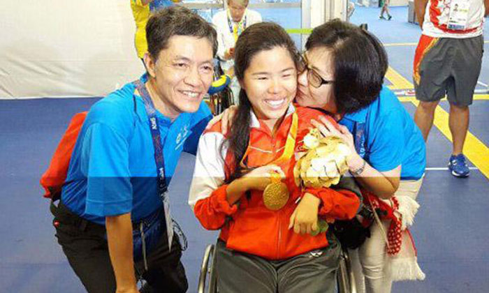 Yip Pin Xiu clinches Singapore's second gold medal at Paralympics