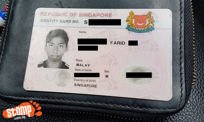 Is this your wallet? You left it behind in taxi after alighting at Bedok Reservoir Road