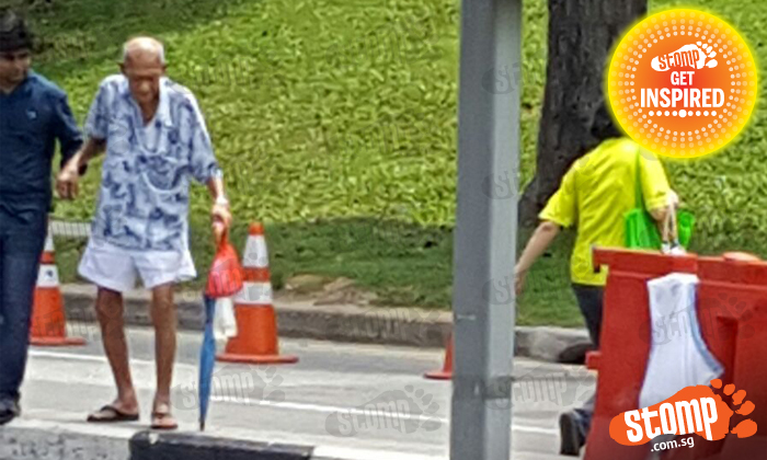 Kudos to woman who helped elderly man cross the road in Jurong East: 'I love Singapore!'