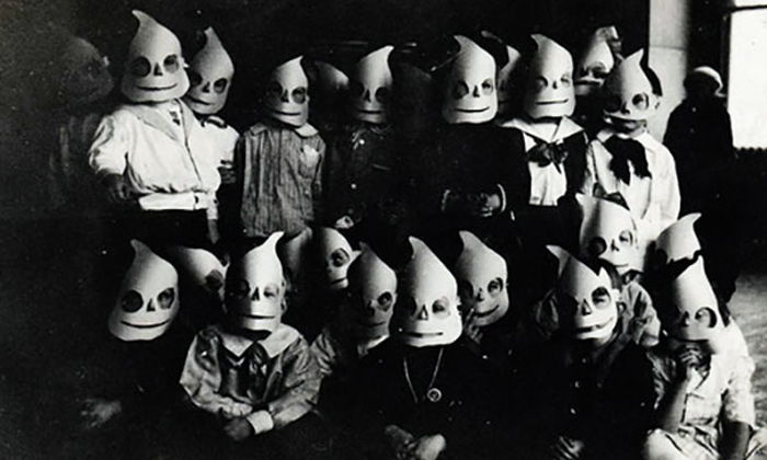 Think Halloween nowadays is scary? Wait till you see these old costumes from the past
