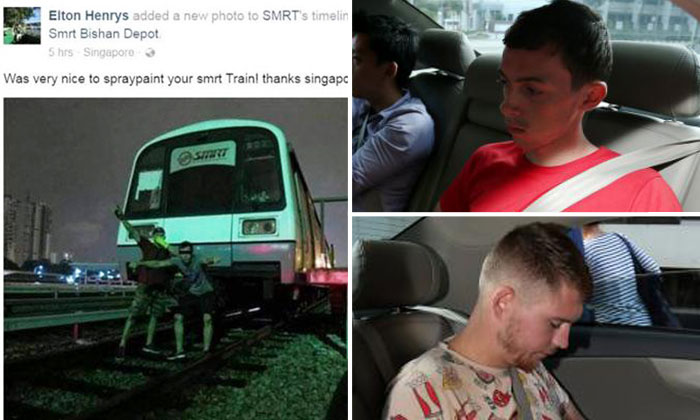 SMRT Facebook page trolled with photo of German vandals' 2014 trespass at Bishan Depot