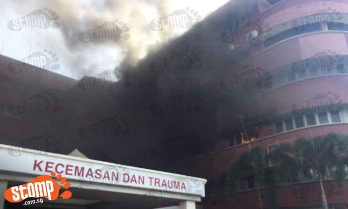 6 people die after fire breaks out at Sultanah Aminah Hospital in Johor