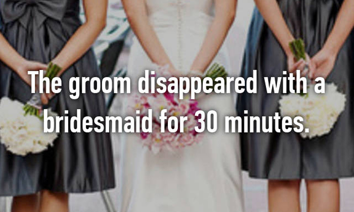 The most embarrassing and scandalous things that have happened at weddings