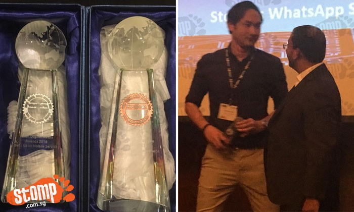 Stomp wins Silver and Bronze awards for Best News Mobile Service and Best Reader Engagement at Asian Digital Media Awards 2016