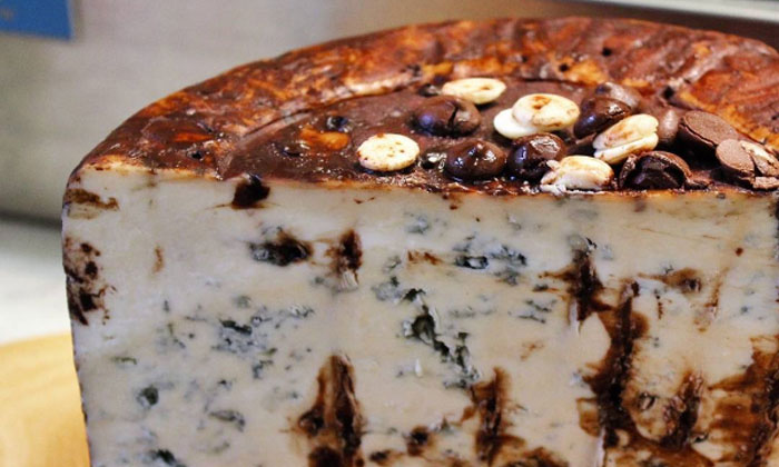 Craving something sweet and salty? Try chocolate cheese