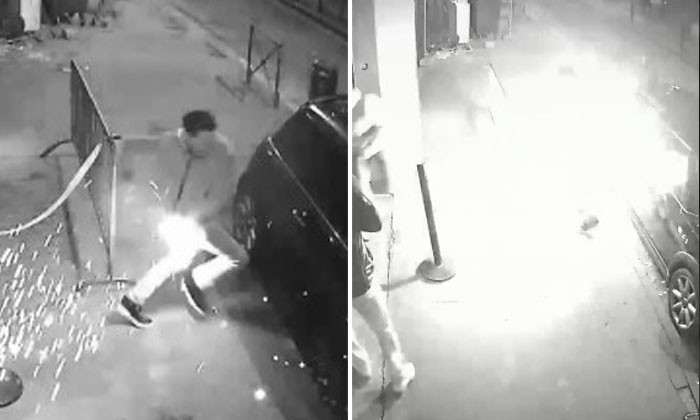 Club manager in France has second-degree burns after an e-cigarette explodes in his pocket