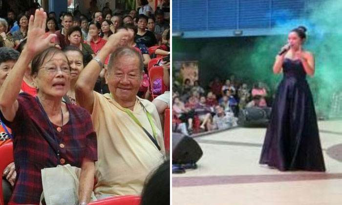 Getai shows giving info to seniors who face abuse