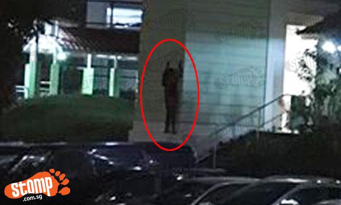 Did Stomper see human or hantu at Lorong Ah Soo?