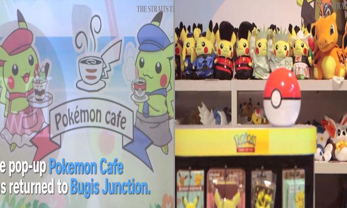 Pokemon Cafe is back!